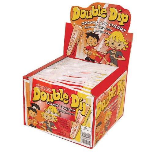 Swizzels Double Dip Orange&Kirsch 96er Sparpack für 28,77 ebay