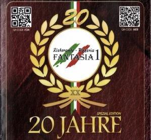 [Lokal Offenbach] Pizzeria Fantasia I; Jübiläumsangebot (ab 16.10.): Alle Gerichte 3,90€