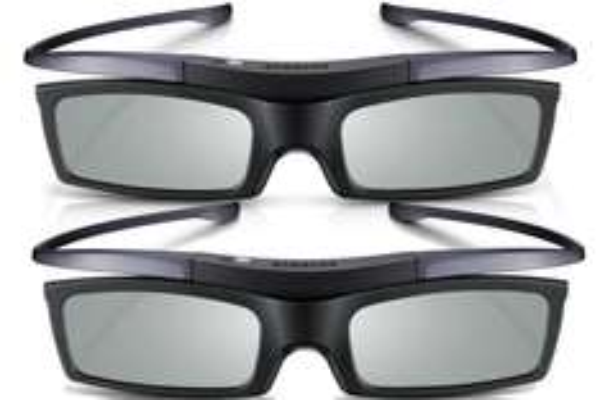 Samsung 3D-Active-Shutter-Brillen Starterset(Doppelpack, Batteriebetrieb) EUR 19,93 @Amazon