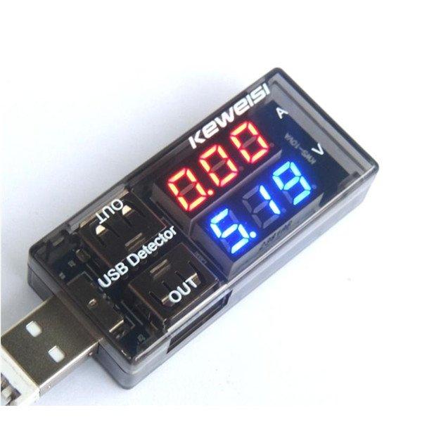 USB Multimeter 3V-9V (USB Charge Doctor) @Banggood EU Warehouse