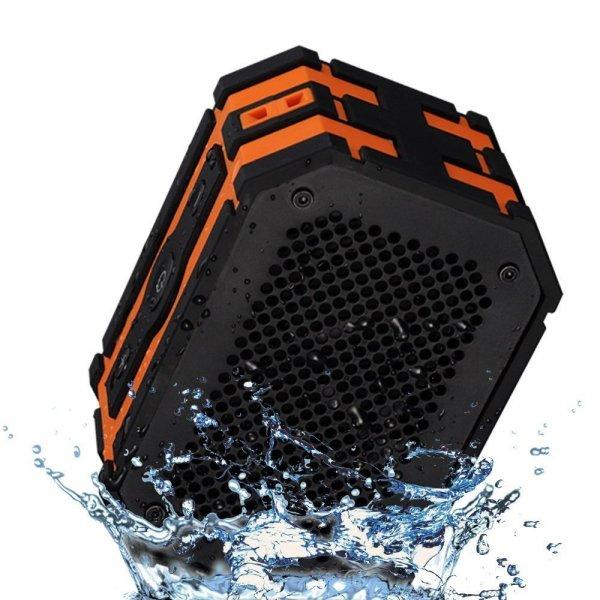 (Amazon) Mpow Armor Wasserdicht Bluetooth 4.0 Lautsprecher Indoor Outdoor Sport Stoßfest mit Powerbank Funktion