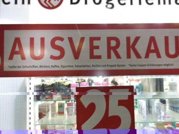 [SAMMELDEAL] [LOKAL] Rossmann Bückeburg 50% AUSVERKAUF auf ALLES* mit Ausnahmen, wegen Umzug !