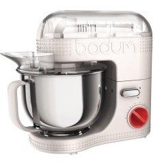 Saturn Hannover - Bodum Küchenmaschine creme + Bodum BISTRO Gemüseschneider 99,- Euro  statt günstigster Preis 269,75 bei Idealo/Amazon *ausverkauft*