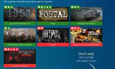 OneMoreBundle Strategy vs Mayhem Bundle (7 Steam Spiele) $1 für 1953: NATO vs Warsaw Pact, Postal, Strategic War in Europe, The Campaign Series: Fall Weiss; $5 für Hatred, Zombie Driver HD Complete Edition, Warlocks vs Shadows