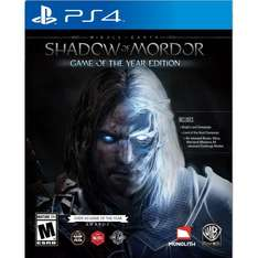 Mittelerde: Mordors Schatten - Game of the Year Edition (PS4) @Coolshop.de