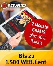 save.TV [Neukunden] 2 Monate testen 750 WEB.Cent = 7,50€ erhalten