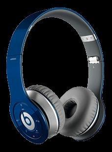 Beats by Dr. Dre Wireless Bluetooth Kopfhörer blau/rot
