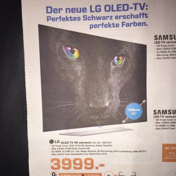 @saturn Wiesbaden Mainz LG 55EF9509 4k OLED