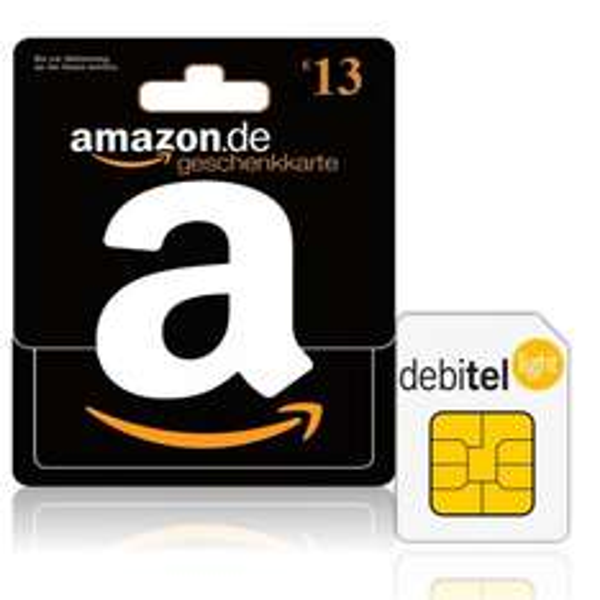 Debitel Light Sim Karte für 1,95€ +13€ Amazon Gutschein