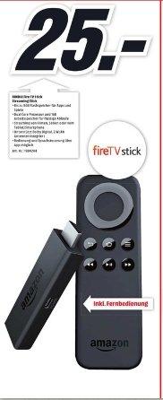 [Lokal Mediamarkt Neumünster] Ab 15.10...Amazon Fire TV Stick für 25,-€