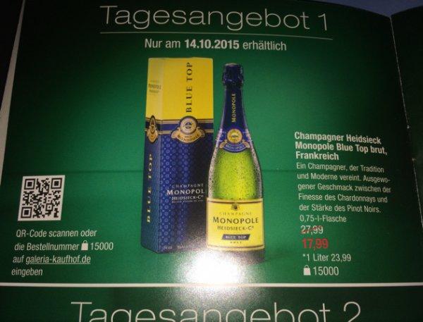 Heidsieck Monopole Blue Top Champagner 0,75l