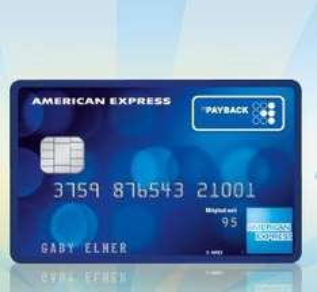 [Payback] American Express Kreditkarte mit 4.000 Extra Punkten