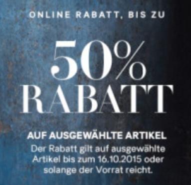 [H&M ONLINE] ausgewählte Artikel 50% günstiger (nur 3 Tage!!)