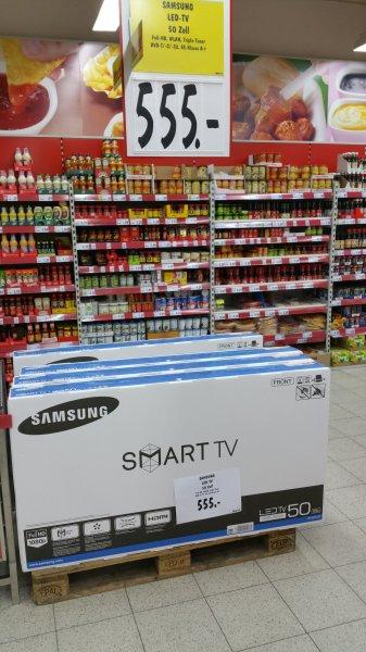 [lokal Jena] Kaufland - Samsung Full-HD Smart-TV UE50J5550 für 555€