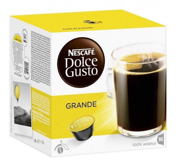 [Update] [amazon prime/sparabo] Dolce Gusto 3er Pack (48 Kapseln) Grande + Grande Intenso ab 10,80€ - jetzt auch Latte Macchiato + Cappuccino