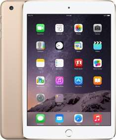 [comtech] iPad mini 3 wifi + 4G, 16 GB, gold