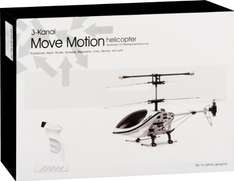 [Amazon.de-Prime] fun2get 777-290 - Helikopter Move Motion, weiß