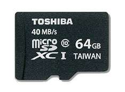 TOSHIBA microSDXC UHS-I Card 64 GB SD Card 64 GB für 18 € > [mediamarkt.de] > Vsk frei