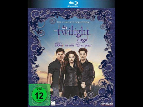 Die Twilight Saga - Bis(s) in alle Ewigkeit  (((Alle 6 Teile)))
