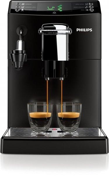 Philips HD8844/01 4000 Serie Kaffeevollautomat, CoffeeSwitch, Cappuccinatore, schwarz