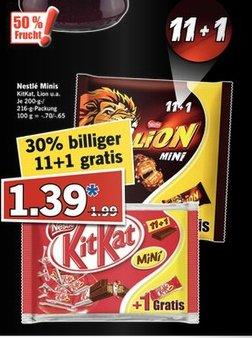 [Vorankündigung Lidl] SuperSamstag 24.10....Lions Mini & KitKat Mini je 12er Packung 1,39€