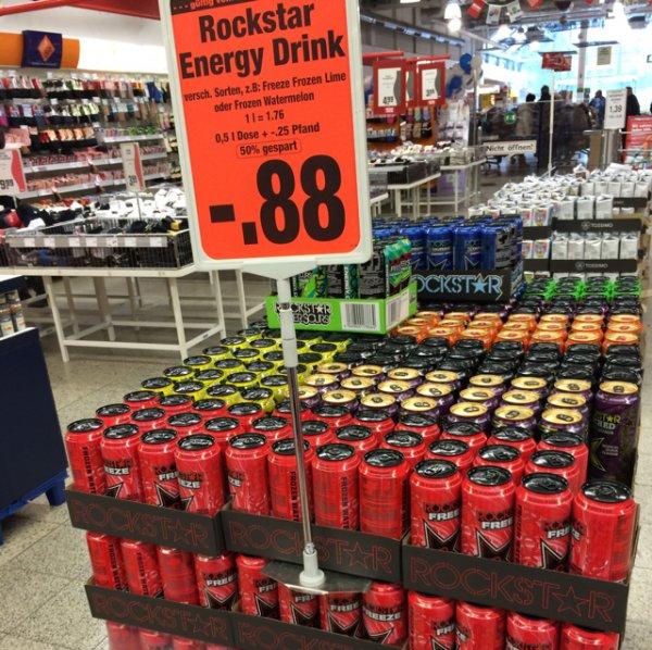 [Rewe/Lokal Dortmund (NRW)] Rockstar Energy 0,88€ (+Pfand)