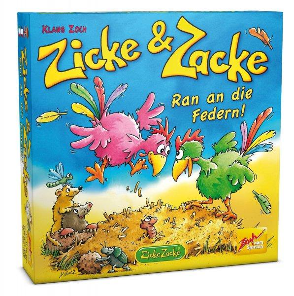 Kinderspiel - Zicke&Zacke - Ran an die Federn für nur 8,89€ (inkl. Versand)