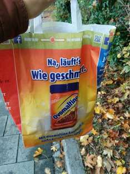 [TU München/Stammgelände] kostenlose semesterstarttüte u.a. mit red bull und ovo crunchy cream