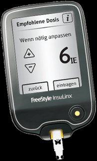 FreeStyle InsuLinx – Blutzucker-Messgerät gratis testen und Behalten