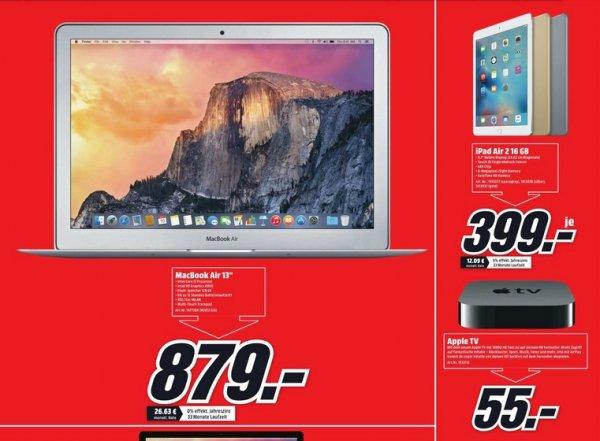 (Lokal)Apple Angebote: APPLE TV MD199FD/A für 55€ usw @ Dortmund Mediamarkt Oespel Indupark