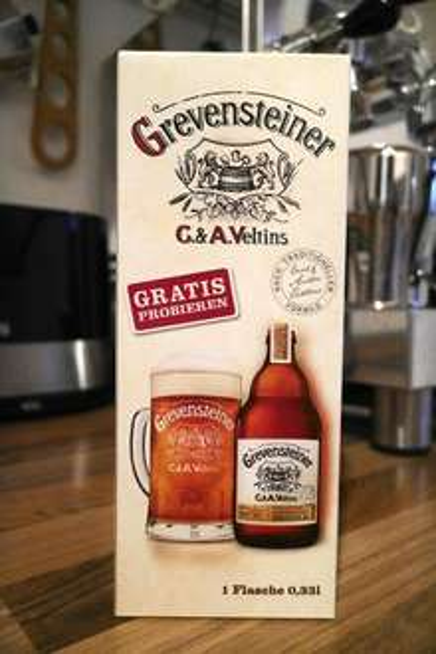 "[evtl. lokal] Bier gratis 0,33l ""Grevensteiner"" im Logo Getränkemarkt"