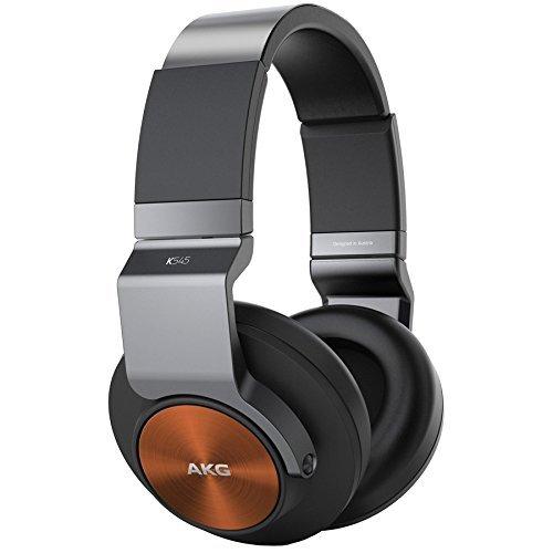 AKG K545 Geschlossene Over-Ear Kopfhörer mit Bedieneinheit und Mikrofon / Kompatibel mit iOS und Android Smartphones, schwarz/orange inkl. Vsk für 89,95 € > [allyouneed.de]