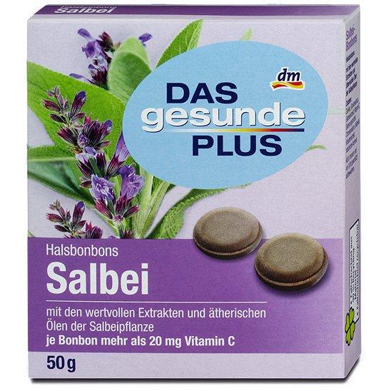 "[dm] - Gratis Halsbonbons Salbei ""Das gesunde Plus"""