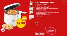 Tefal Maxi Fry Fritteuse bei Penny für 34,99€