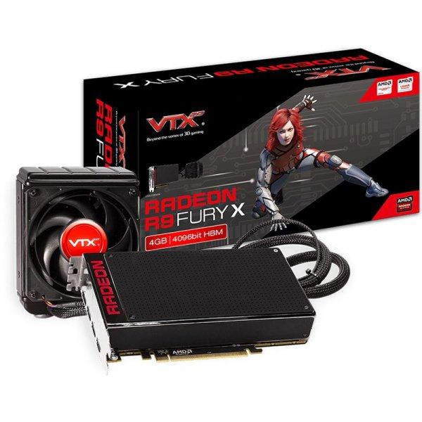 4096MB VTX3D oder Gigabyte Radeon R9 FURY X Hybrid PCIe 3.0 x16 (Retail) ab 24Uhr für 599,- !