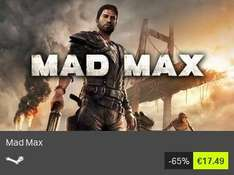 [BundleStars][Steam key] Mad Max