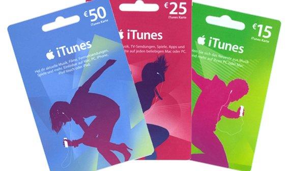 Rossmann - Itunes-Karten Gutscheine mit 20% Rabatt (15€/25€/50€/100€ Gutscheine für 12€/20€/40€/80€)