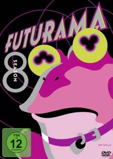 [Amazon Prime] Futurama Staffel 8 DVD