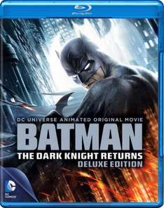 Batman - The Dark Knight Returns [Blu-ray] [Deluxe Edition] @ Amazon Prime
