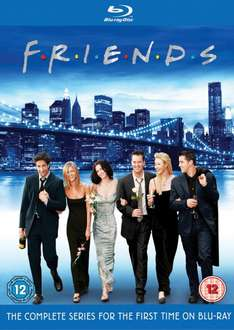 Friends - Die komplette Serie [Blu-ray] 21 Bluray Discs @  Amazon