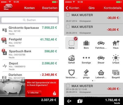 Sparkasse+ App gratis (Am Weltspartag 30.10.2015)