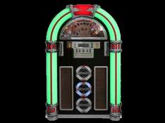 [Mediamarkt] Ricatech RR1600 XXL LED Jukebox (CD-Player, Radio, MP3, USB, SD-Kartenslot, Audio, Remote Control)
