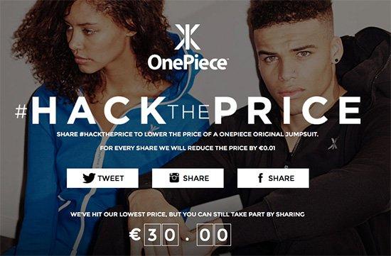 OnePiece Original Jumpsuit bei HackThePrice für 30€ + 6,90€ VSK