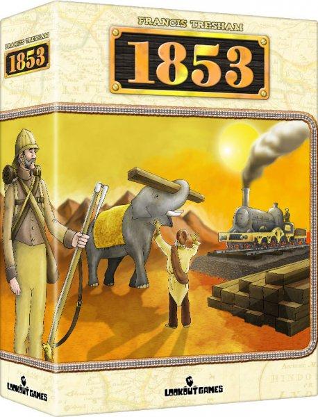 1853 (18xx Reihe) Brettspiel / Gesellschaftsspiel (dt. Ausgabe)