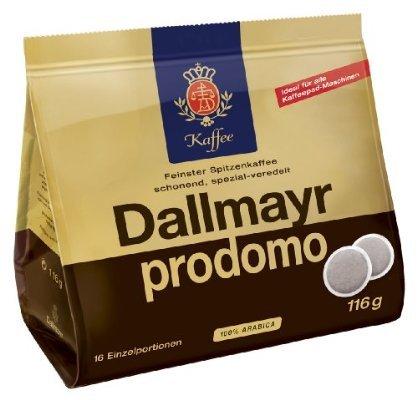 [Amazon Prime] Dallmayr Prodomo & d'oro Pads 5x16 Stück für 7,96