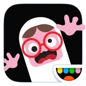 [iOS] Toca Boo - Kinder-App zum Gruseln von Toca Boca für Iphone Ipad zu Halloween