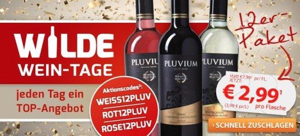 Gutscheinfehler! 18 Flaschen Pluvium Premium Selection Bobal-Cabernet ab 40,83€