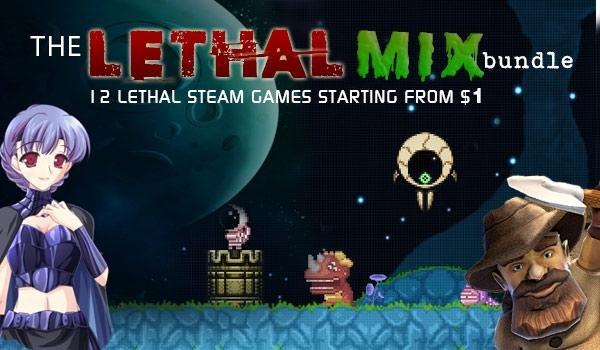 [Steam] Lethal Mix Bundle mit 12 Games für 3,08 € @ IndieGala