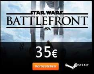 Battlefront 3 SteamKey für 35 Euro