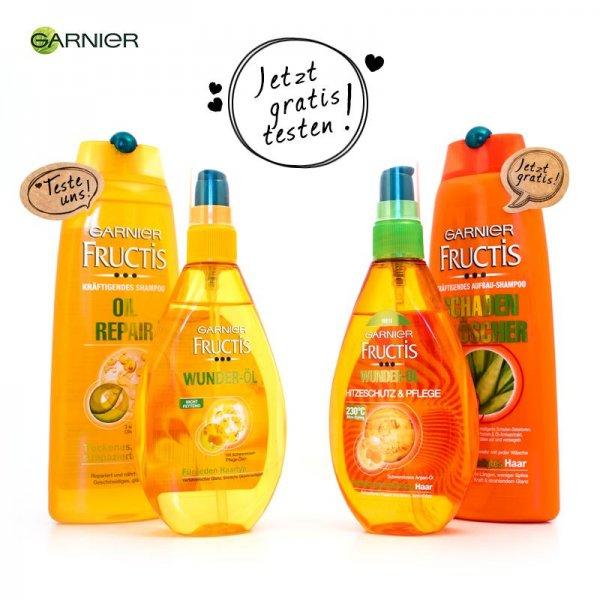 [GzG] Fructis Shampoo und Wunder-Öl aus der Serie Schaden Löscher oder Oil Repair 3